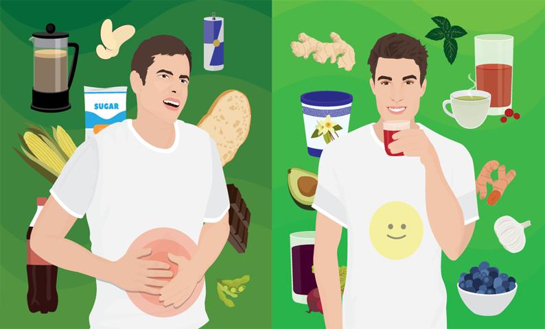 nguyên nhân của viêm loét dạ dày