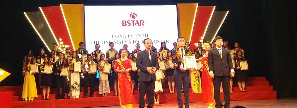 Bstar nhận giải thưởng tinn dùng 2017