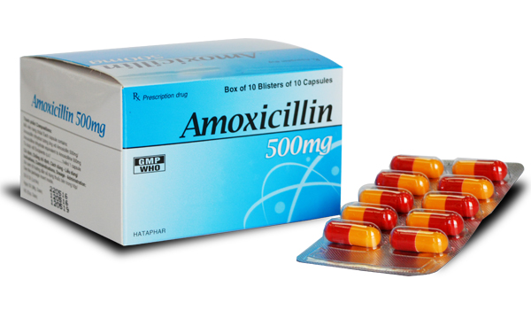 thuốc Amoxicillin