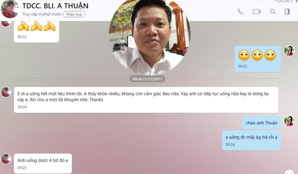 Tra Uong Giam Tac Dung Phu Cua Khang Sinh Tri Hp